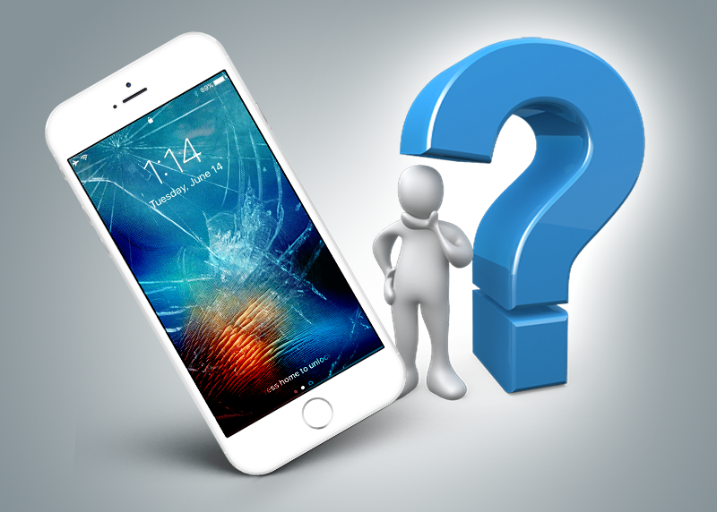 How To Deal With A Cracked iPhone Screen? | Ipc3 Com